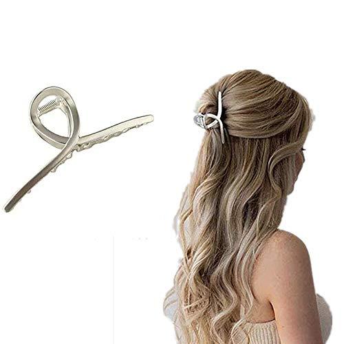 Eenvoudige Hoofdtooi Metalen Haarspeld, Dames Geometrische Haarspeldjes, Haarklemmen, Antislip Haarklemmen, Mode Metalen Haarklemmen, Vintage Metalen Haarklemmen, Cadeau voor Meisjes Vrouw