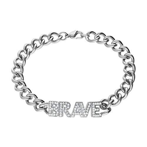 Bracciale Brave Stroili donna 1666596 acciaio collezione Lady Message