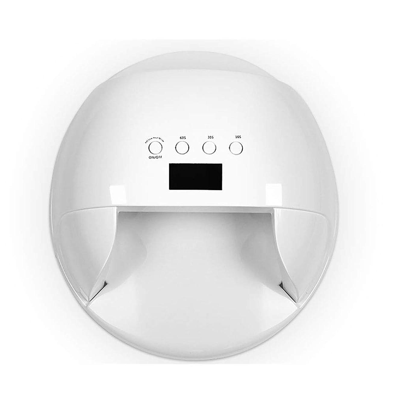 悩みフットボール思慮のない釘のドライヤー - 自動赤外線センサー、二重光源のLEDランプのゲルのドライヤーのマニキュアが付いている紫外線携帯用LEDの釘ランプ