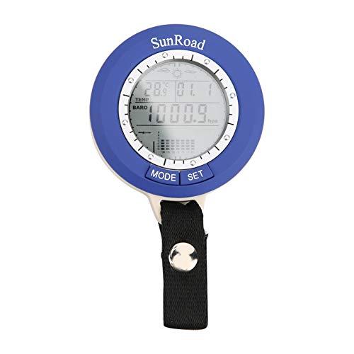 Medidor de presión de aire para pesca, barómetro de pesca, medidor de presión de aire, barómetro, manómetro, probador de presión, compacto, fácil de transportar, para exteriores, entusiastas