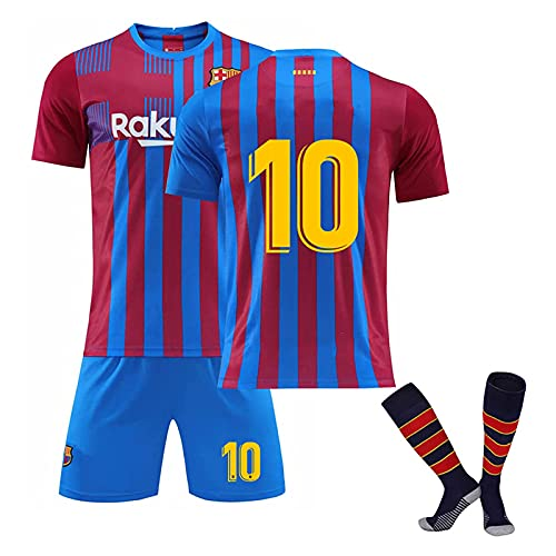 DSechcrsL # 10 M-ESS-I 2020/2021 Camiseta De Local Y Pantalones Cortos con...