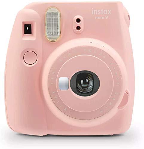 Fujifilm Instax Mini 9 Instant Camera - Rose Quartz Pink (Renewed)