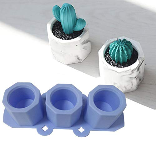 Silicone Mold DIY Cement Pot Making Molds Fatta a Mano Argilla Craft Making Silicone calcestruzzo Bottiglia Molding Tool