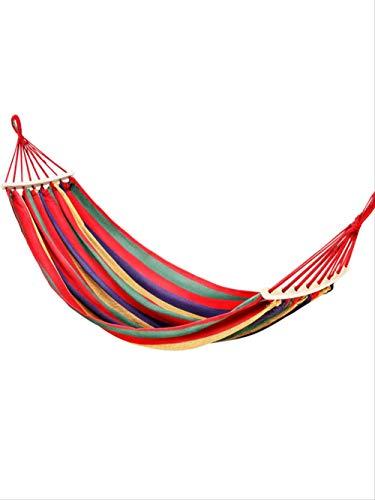 NOBRAND TJSW Hängematte Outdoor Swing Indoor Home Single Double College Dormitory Erwachsene Schlafsessel Anti-Roll