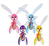 Rhode Island Novelty 48 Inch Rabbit Inflate Set of 3 Assorted Colors
