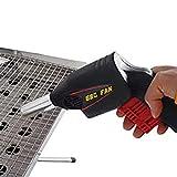 CZ-XING - Pistola di avviamento per barbecue, griglia a carbone, ventilatore a soffietto, ventilatore portatile per esterni, senza batterie