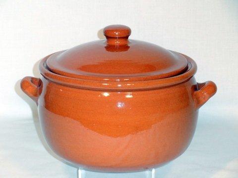 Terracotta-Pentola per stufati da 1,5 l, con colori