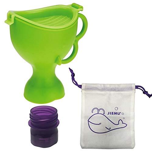 Urinal YANFEI Children Go Out Mini Pissoir Einfach New Trichter Pissoir for Auto/Reise/Camping, senden Aufbewahrungstasche
