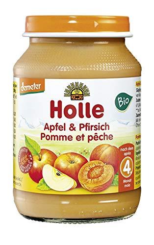 Holle Bio Apfel & Pfirsich (6 x 190 gr)