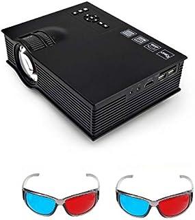 بروجكتر واي فاي محمول مسرح سينما منزلي يعمل مع الجوال لاسلكياً وضوح عالي مع نظارات 3 دي 1200 لومينز