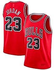 Zhao Xuan Trade Maglia da Uomo Jersey Bulls Vintage NBA Champion Michael Jordan Maglia Chicago Bulls # 23 Maglia da Basket Swingman Jersey