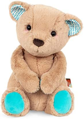 B toys by Battat Happy Hues Cara Mellow Bear Soft Cuddly Plush Teddy Bear Huggable Stuffed Animal product image