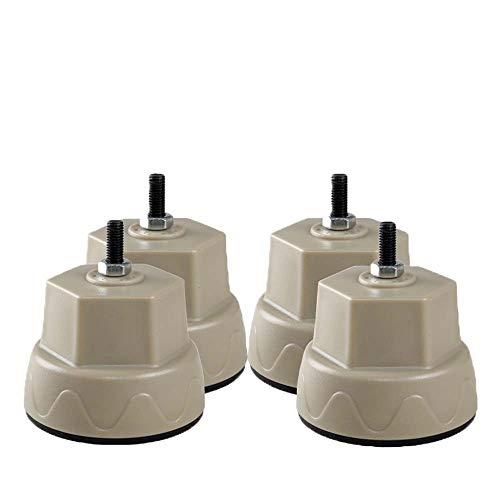 Universele anti-vibratie rubberen voetkussens voor alle merken wasmachines, 4 stuks