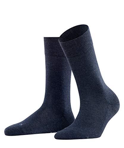 FALKE Damen Sensitive London W SO Socken, Blau (Navy Blue 6499), 35-38
