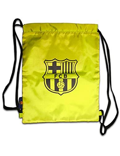 R ROGER'S Barça gymsack bolsa de deporte amarilla FC Barcelona