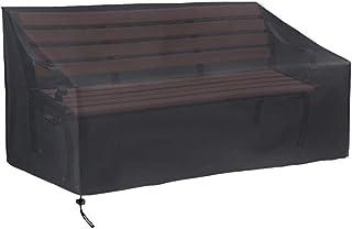 Heavy Duty Jardín 3 plazas Banco Cubierta de asiento Impermeable Resistente a la intemperie al aire libre