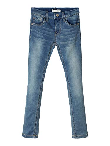 NAME IT Herren X-Slim Fit Jeans Sweatdenim 164Light Blue Denim
