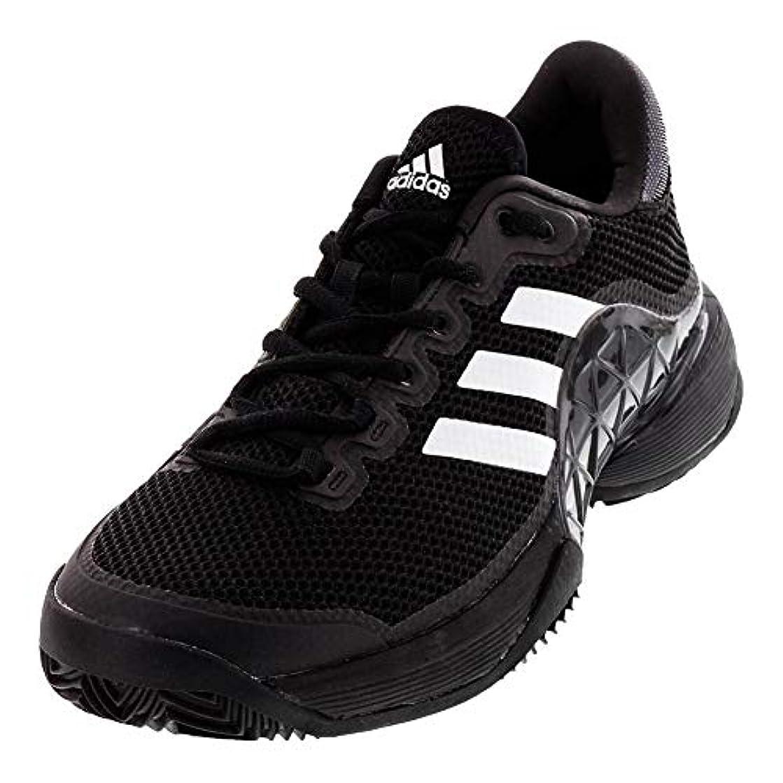 adidas Men's 2017 Barricade Boost Clay Court Tennis Shoes, Core Black/Night Metallic/White (Size 11)