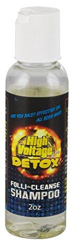 High Voltage Hair Follicle Cleanser Detox Test Shampoo 3