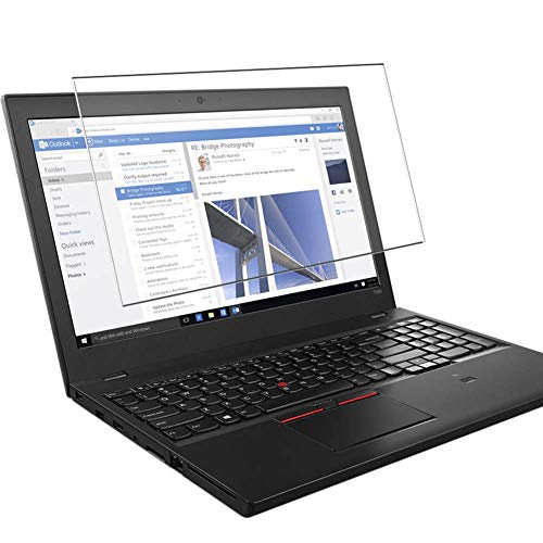 Vaxson Tempered Glass Screen Protector, compatible with lenovo Thinkpad T560 15.6' Visible Area, 9H Film Protector [NOT Full Coverage]