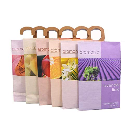 YUMSUM Parfuminated Clothes Bags, 6 pcs, 25g