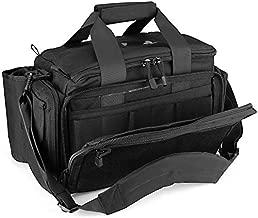 ProCase Tactical Gun Range Bag Pistol Shooting Duffle Bag, Deluxe Padded Shooting Range Bag Large Handguns Magazine Ammo Gear Accessories Pouch for Hunting Shooting Range Sport