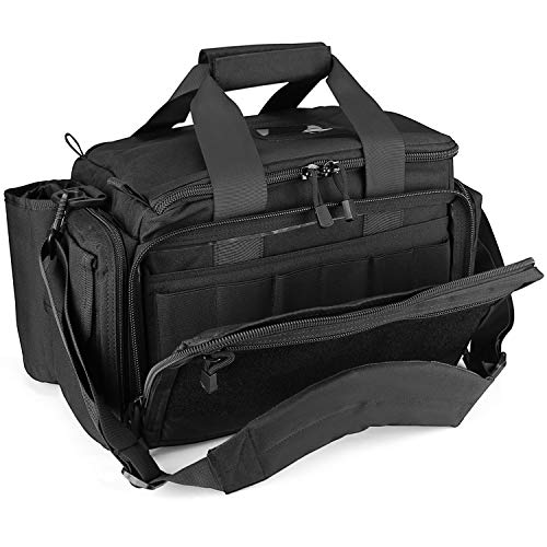 ProCase Tactical Gun Range Bag Pistol Shooting Duffle Bag, Deluxe Padded Shooting Range...