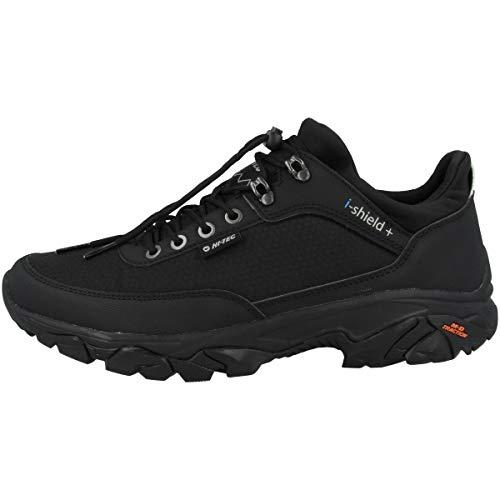 Hi-Tec Adventure Moc I+, Zapatillas para Caminar Hombre, Black, 42 EU