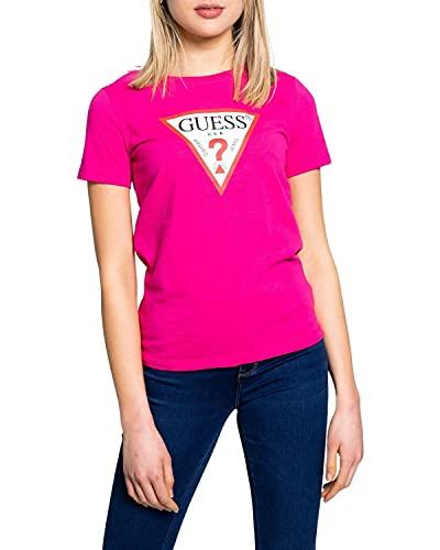Guess Jeans W1RI00I3Z11 T-Shirt Maniche Corte Donna Rosa G64E XS