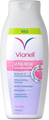 Vionell UltraFresh Intimwaschlotion, Intimpflege für Frauen,3 x 250 ml