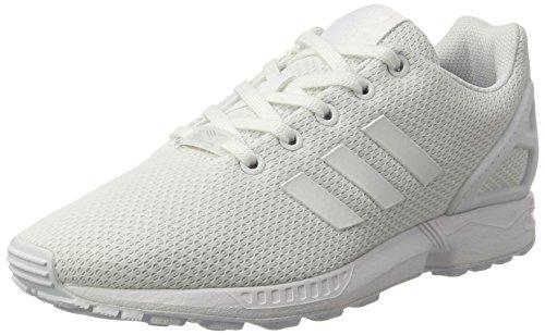 adidas ZX Flux, Scarpe da Ginnastica Basse Unisex-Bambini, Bianco (Footwear White/Footwear White/Footwear White), 32 EU