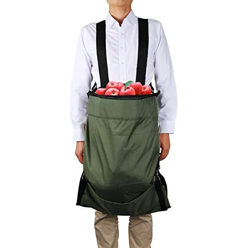 KDOI Delantal Oxford de alto rendimiento para fruta, delanta
