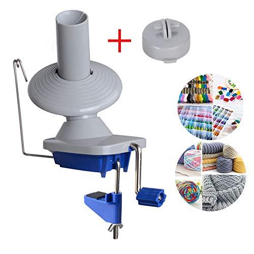 Wollwickler Yarn Garnwinder Kreuzwickler Knäuelwickler Wolle String Kugel Skein Winder Knitting Wool Pro Hand Operated Handbetriebene Strang Maschine