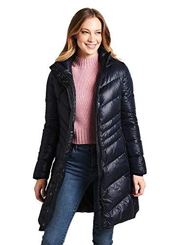 Bogner Fire + Ice Ladies Kiara2-D Blau, Damen Daunen Mantel, Größe 34 - Farbe Midnight Blue