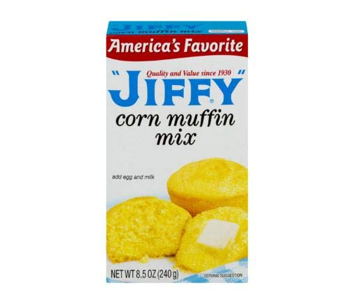 Jiffy Corn Muffin Mix, 8.5 oz (2 pack)
