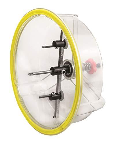 BHC 205 - Cortador circular de metal duro (regulable, en maletín con 4 cuchillos, diámetro: 40-205 mm)