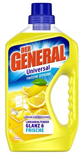 Der General Universal Frische Zitrone, Allzweckreiniger, 750 ml, für Glanz und Frische