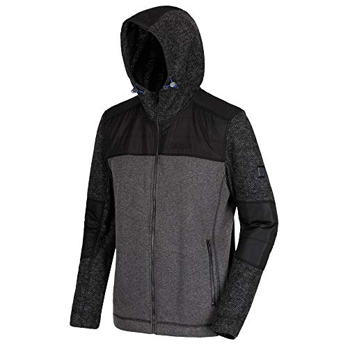 Regatta Rylee Polaire Homme, Black/Black, FR (Taille Fabricant : XL)