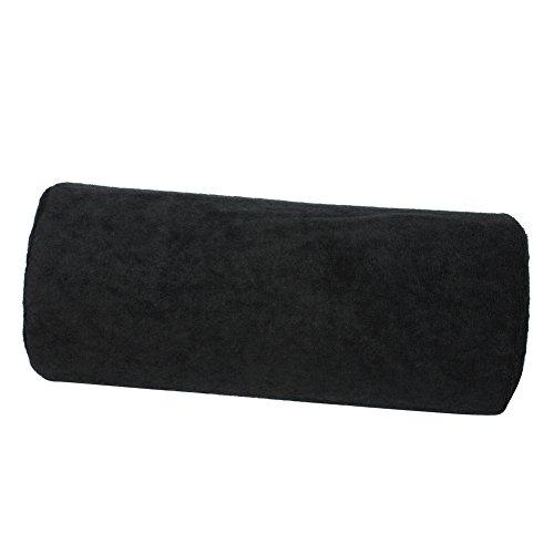 Oreiller Coussin Noir Tissu Eponge pr Ongle Nail Art Professionnel Maison Salon
