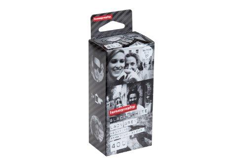 Lomography Lady Grey - B&W 400 35 mm, 3er Pack mit Schwarz/Weiß-Negativfilm