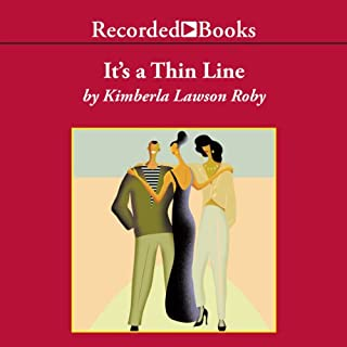 It's a Thin Line audiobook cover art