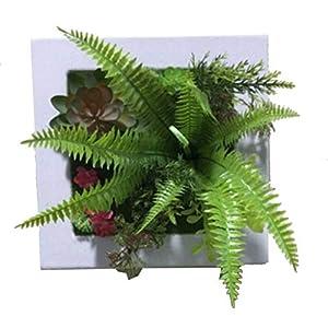 RDJSHOP Artificial Succulent Flower Plant Mini Stalk Mixed Fake Succulent Plant for Birthday Indoor Hotel Desk DIY decorations20x20cm