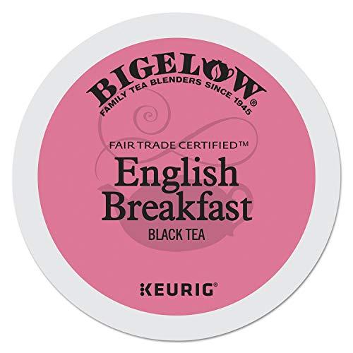 Bigelow English Breakfast Tea K-cup for Keurig Brewers, 24 Count (Pack of 1)