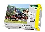 Märklin Trix 21530 Startpackung Güterzug Epoche III, Spur H0 Modelleisenbahn, mit Mobile Fahrregler und Schaltnetzteil und C-Gleis Schienen -