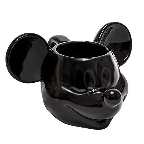Joy Toy 62123 Mickey Mouse Tazza in Ceramica 3D, Nero