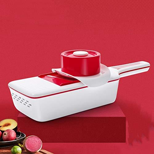 NYKK Reibe Multifunktionale Gemüseschneider Haushaltskartoffel zerrissenes Shredder Küchenreibe Wipe Slicer