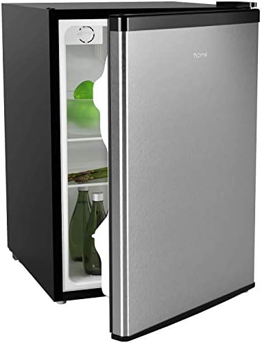 hOmeLabs Mini Fridge 2 4 Cubic Feet Under Counter Refrigerator with Small Freezer Drinks Healthy product image
