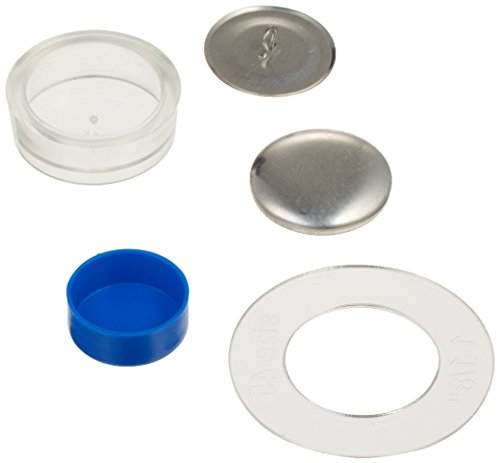 Dritz 114-45 Craft Cover Button Kit with Tools, Size 45 - 1-1/8-Inch, 10-Sets