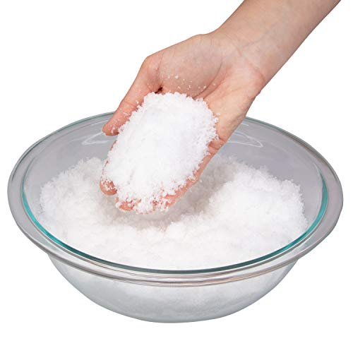 Toys By Nature Instant Miracle Snow Powder - Kids Play Snow, Safe & Non Toxic - Makes Over 2 Gallons of Snow, Just Add Water - 100g Jar