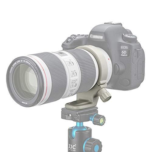 JJC Treppiede per Obiettivo Canon EF 70-200mm f/4L IS II USM, EF 70-200mm f/4L IS e EF 70-200mm f/4L